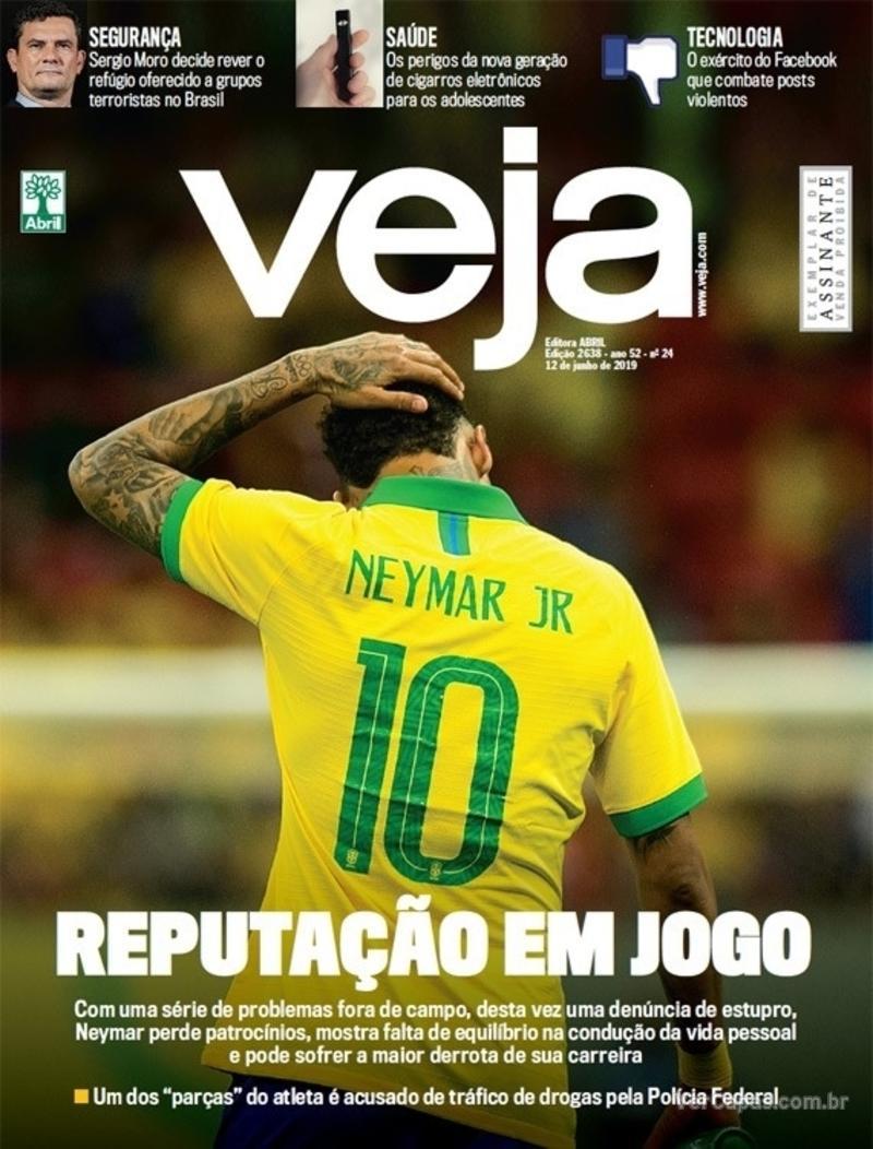 Capa da revista Veja 08/06/2019