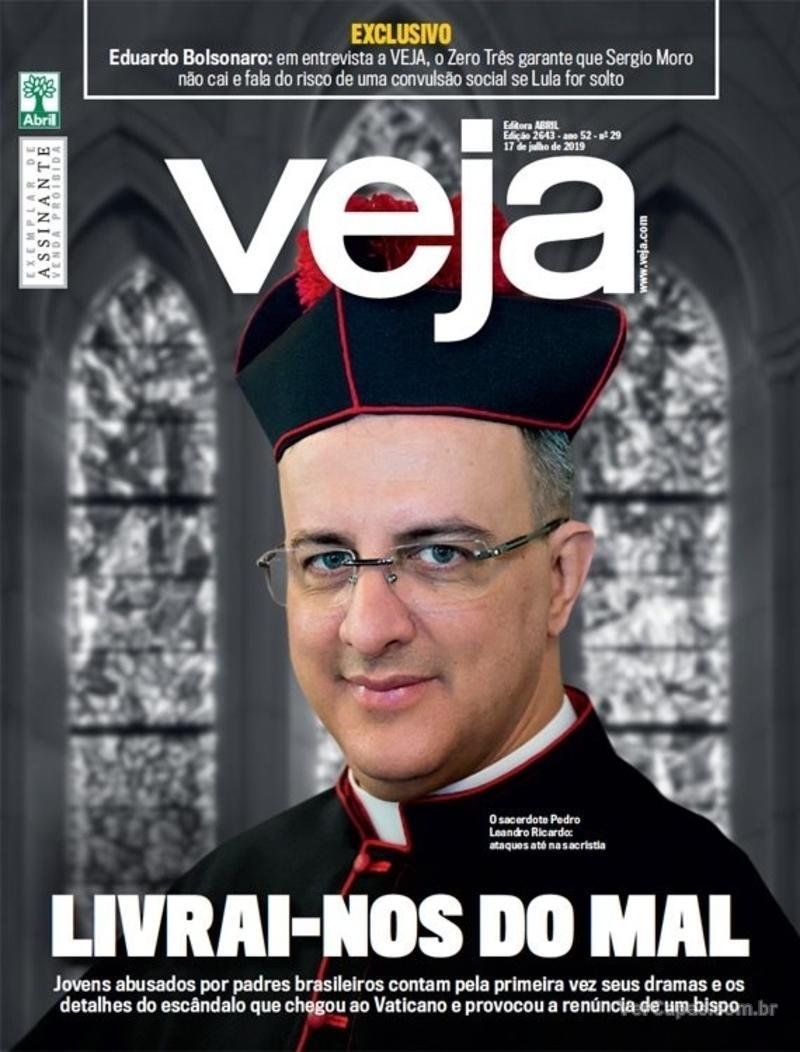 Capa da revista Veja 13/07/2019