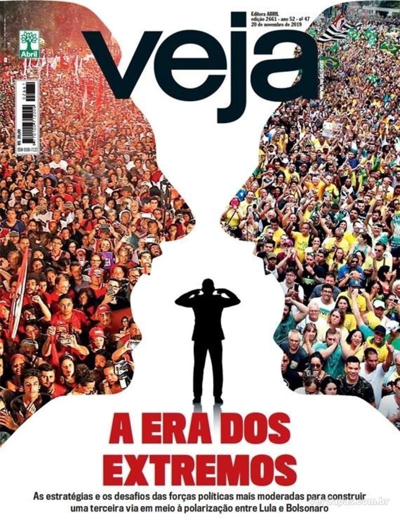 Capa da revista Veja 16/11/2019