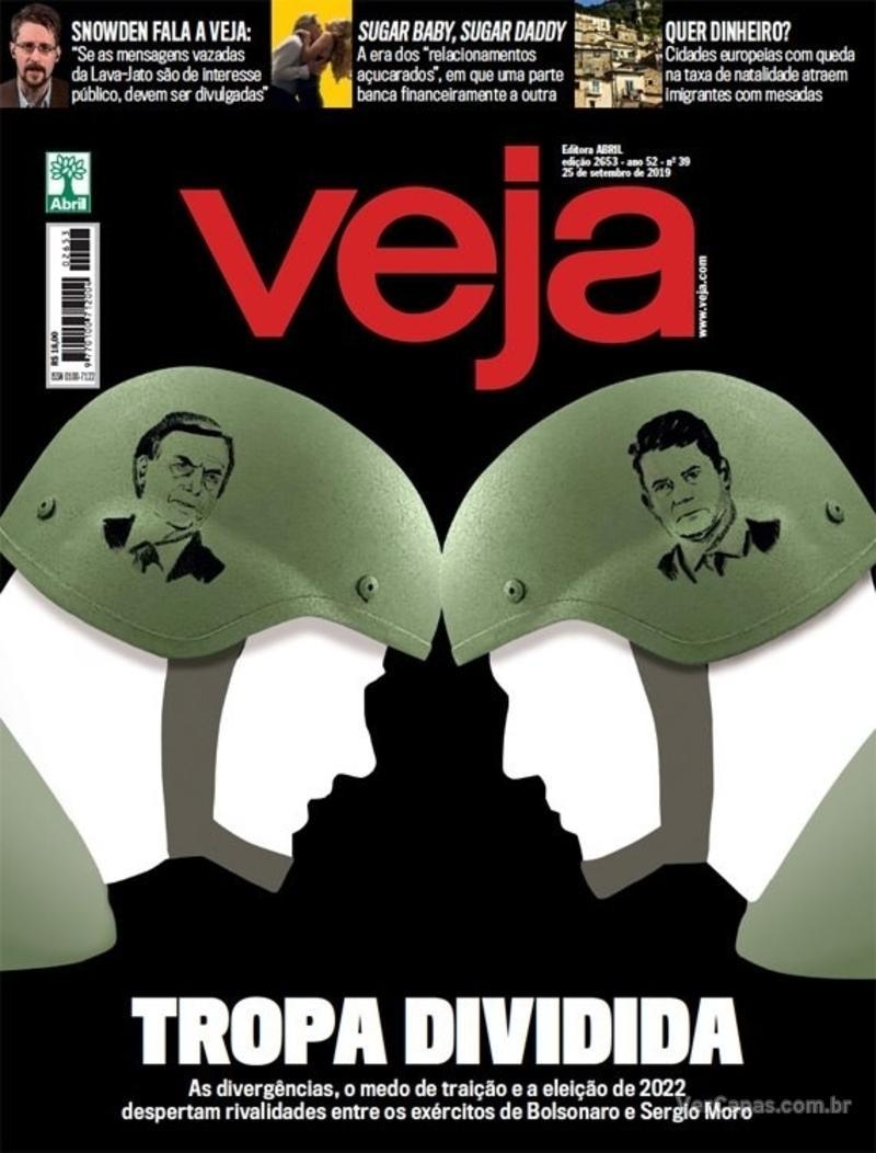 Capa da revista Veja 21/09/2019