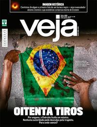 Capa da revista Veja 13/04/2019