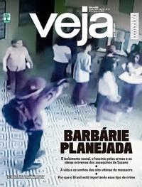 Capa da revista Veja 16/03/2019