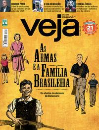Capa da revista Veja 19/01/2019