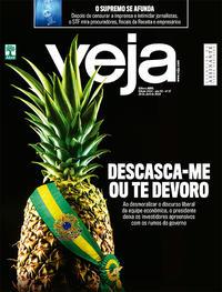 Capa da revista Veja 20/04/2019