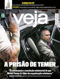 Capa da revista Veja 23/03/2019