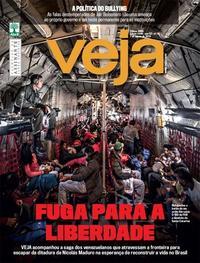 Capa da revista Veja 03/08/2019