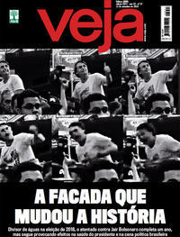 Capa da revista Veja 07/09/2019