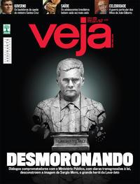 Capa da revista Veja 15/06/2019