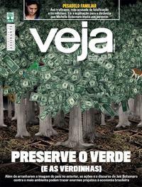 Capa da revista Veja 17/08/2019