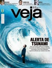 Capa da revista Veja 18/05/2019
