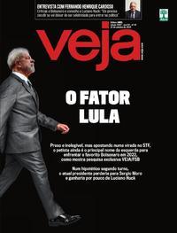 Capa da revista Veja 19/10/2019