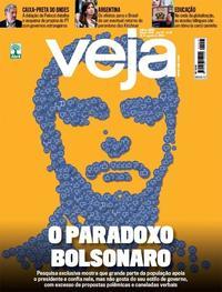 Capa da revista Veja 24/08/2019
