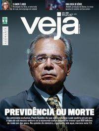 Capa da revista Veja 25/05/2019