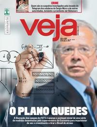 Capa da revista Veja 27/07/2019