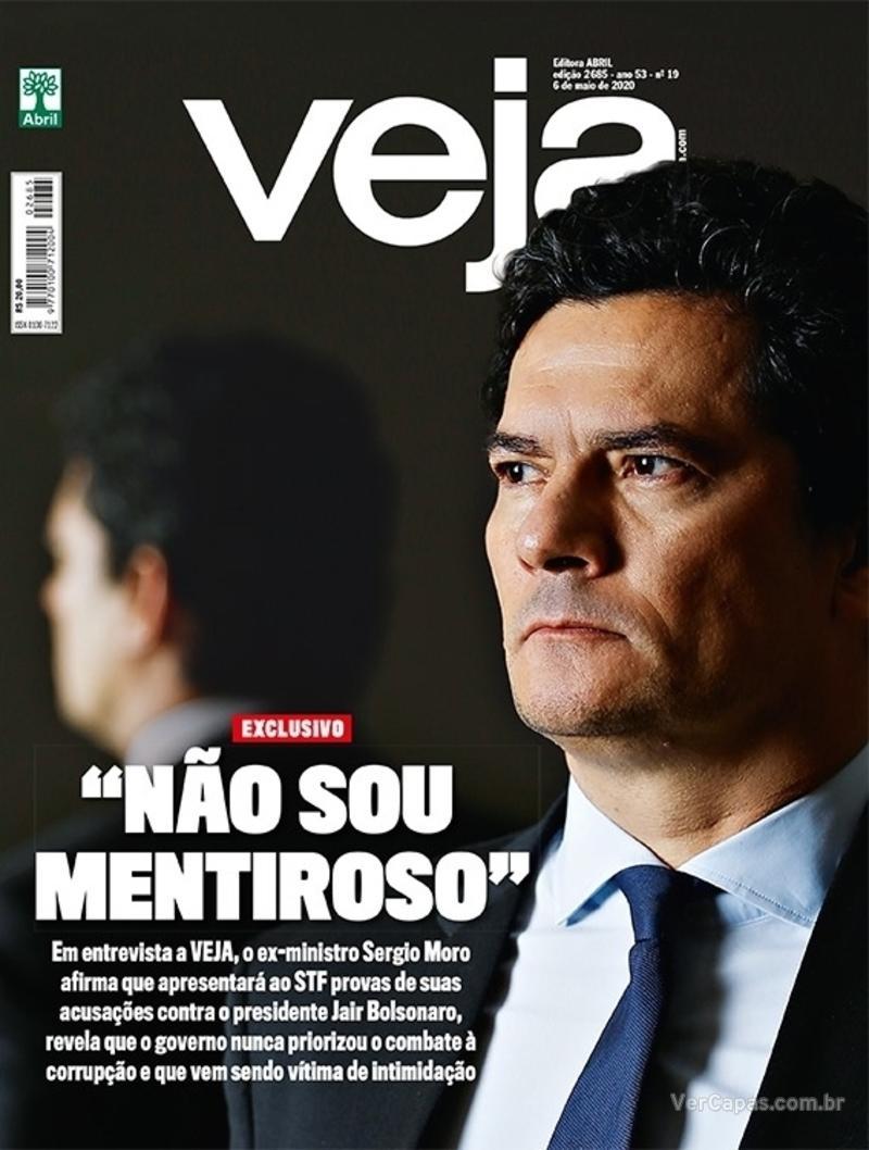 Capa da revista Veja 01/05/2020