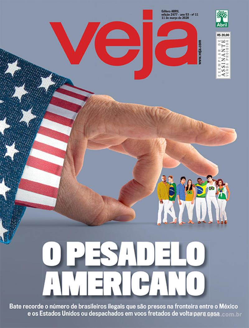 Capa da revista Veja 06/03/2020