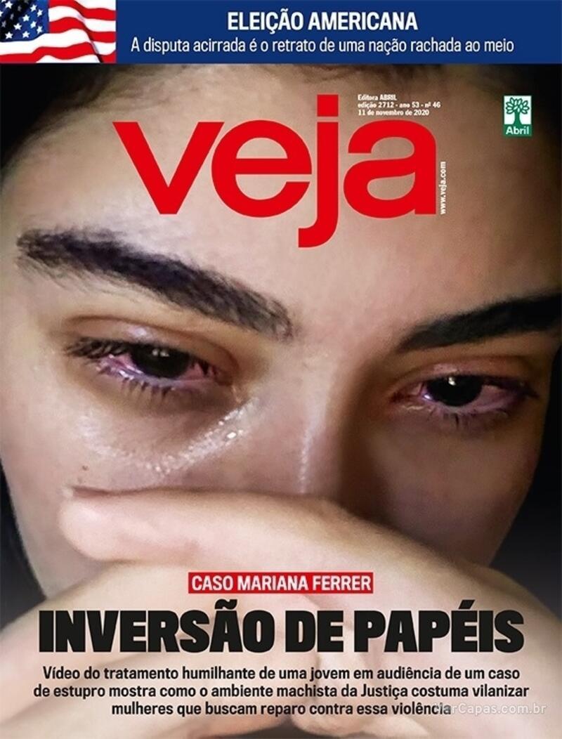 Capa da revista Veja 06/11/2020