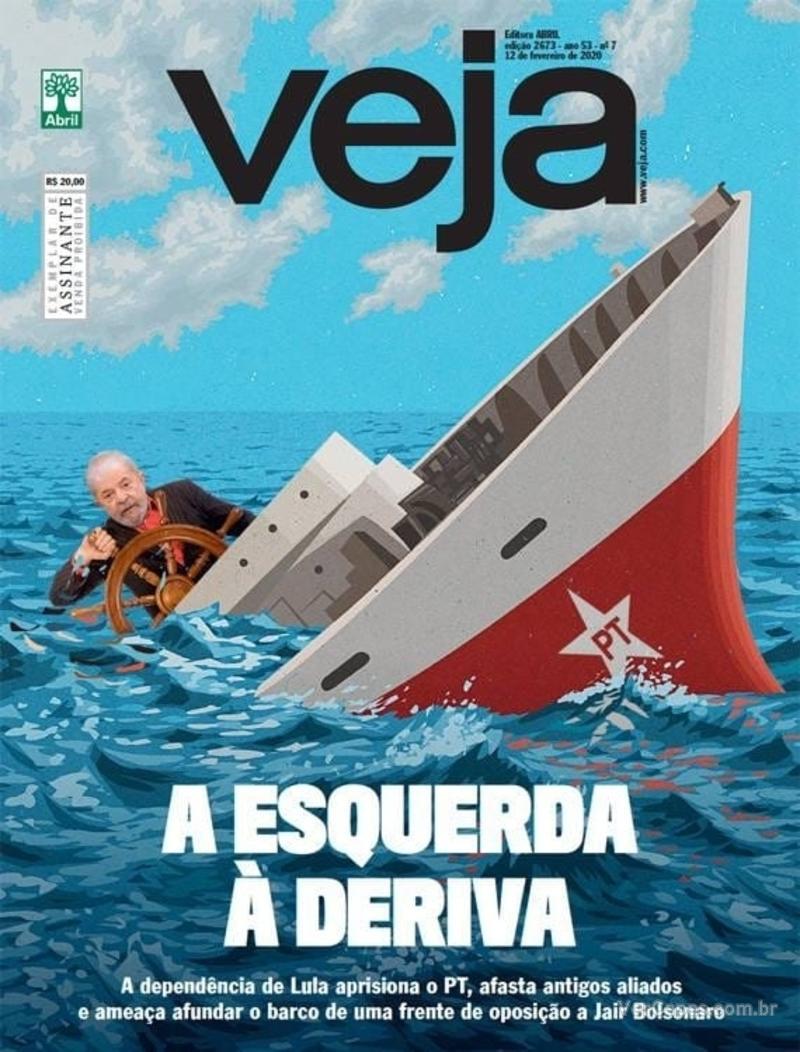 Capa da revista Veja 07/02/2020