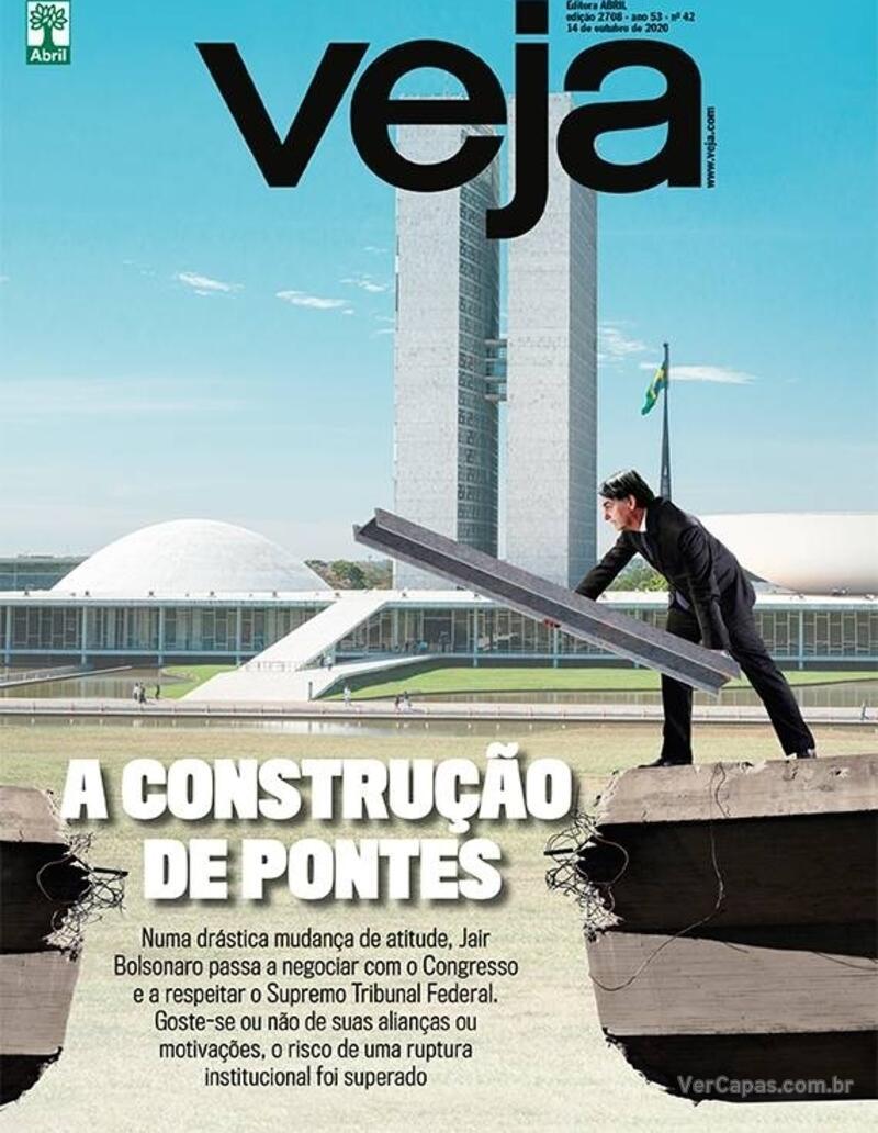 Capa da revista Veja 09/10/2020