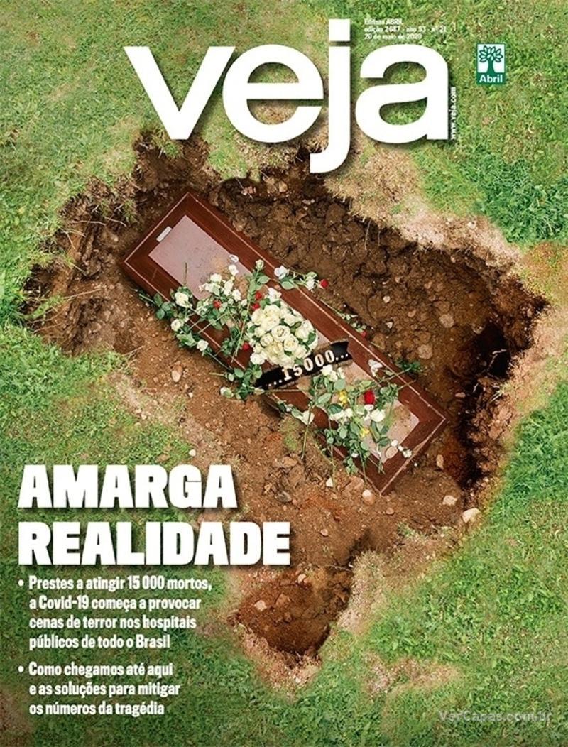 Capa da revista Veja 15/05/2020