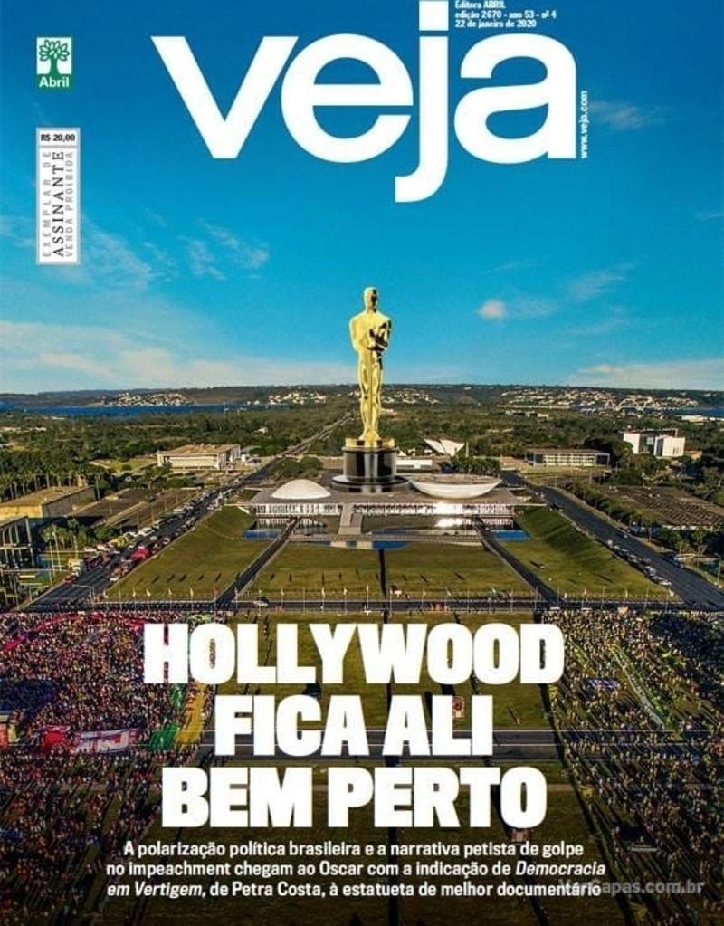 Capa da revista Veja 17/01/2020