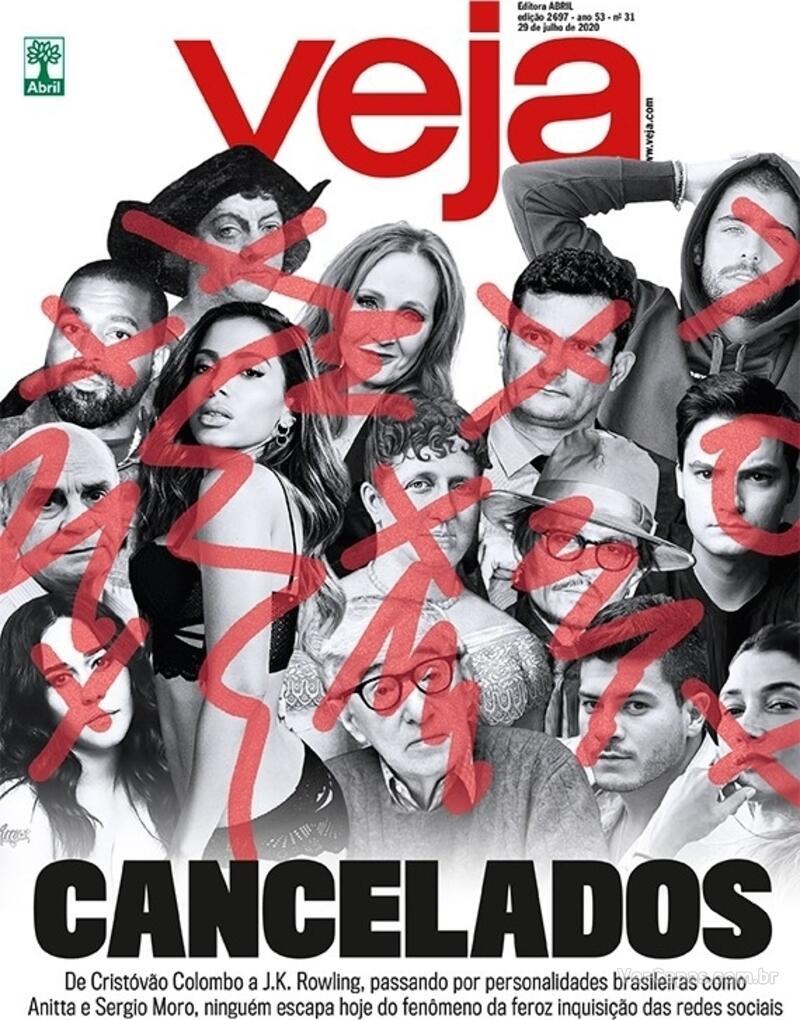 Capa da revista Veja 24/07/2020