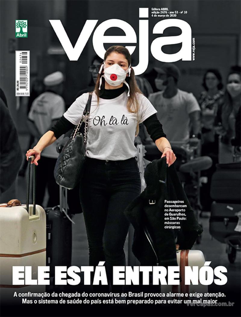 Capa da revista Veja 28/02/2020