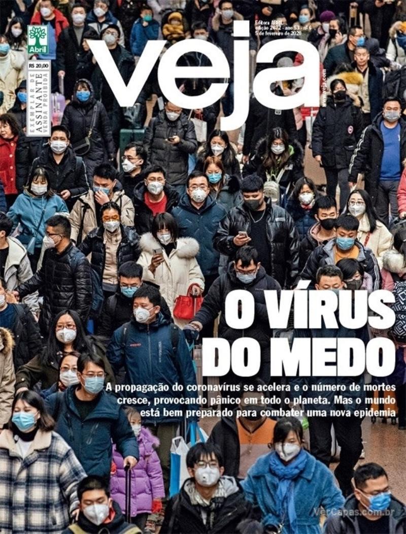 Capa da revista Veja 31/01/2020