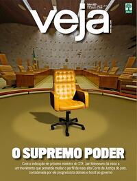 Capa da revista Veja 02/10/2020