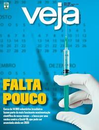 Capa da revista Veja 10/07/2020