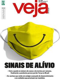 Capa da revista Veja 11/09/2020