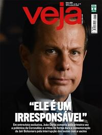 Capa da revista Veja 13/11/2020