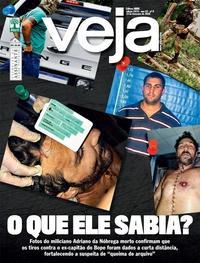 Capa da revista Veja 14/02/2020
