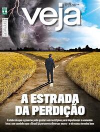 Capa da revista Veja 14/08/2020