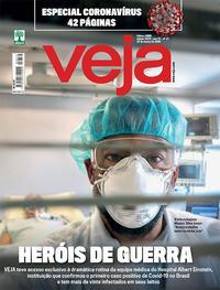 Capa da revista Veja 20/03/2020