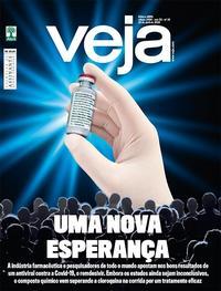 Capa da revista Veja 24/04/2020