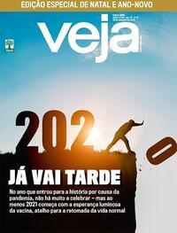 Capa da revista Veja 25/12/2020