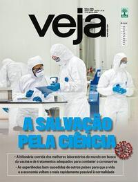 Capa da revista Veja 27/03/2020