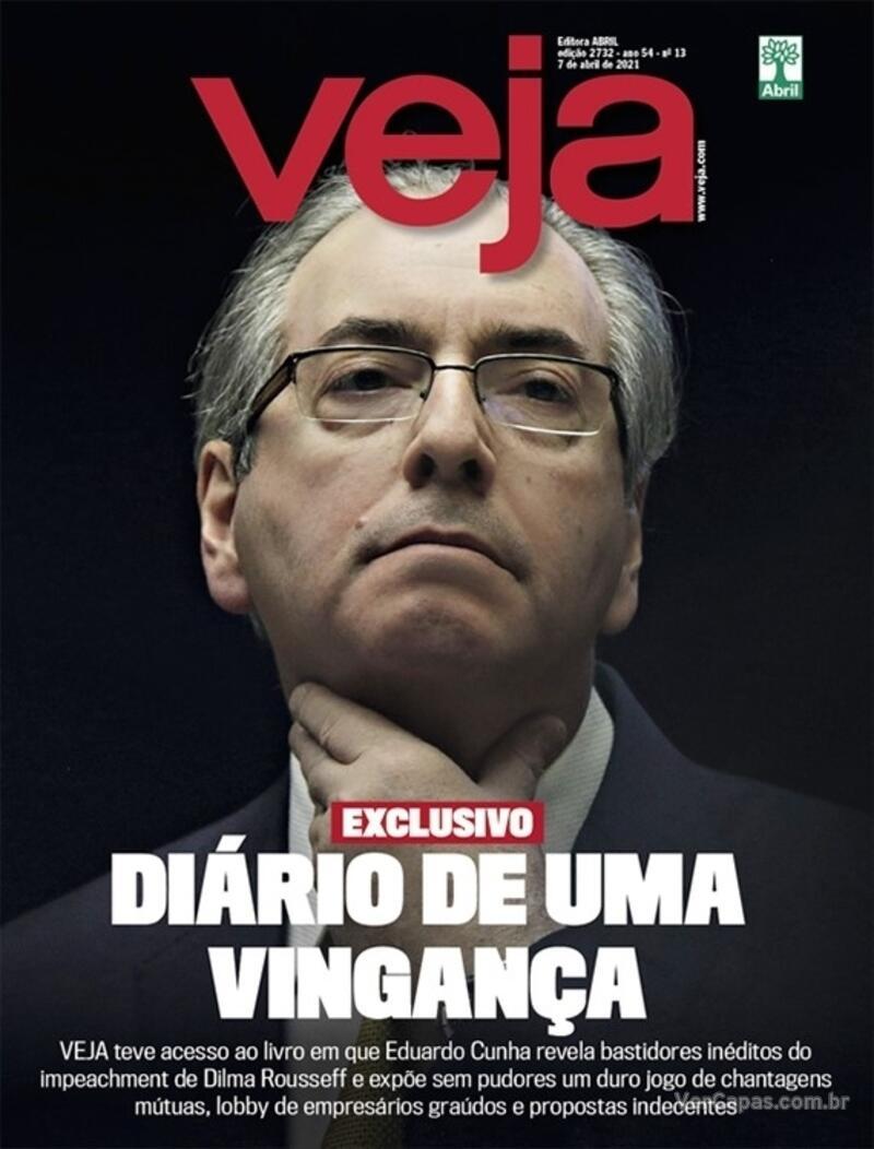 Capa da revista Veja 02/04/2021