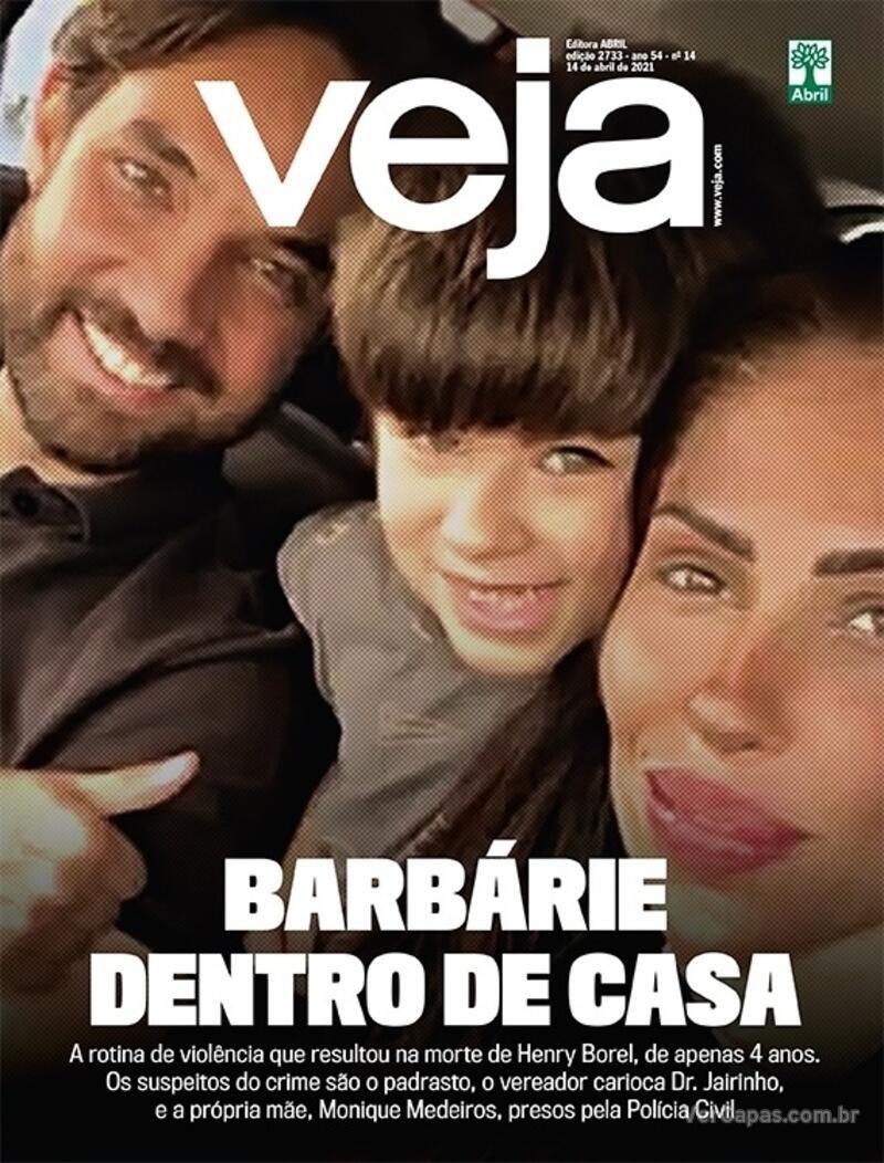 Capa da revista Veja 09/04/2021