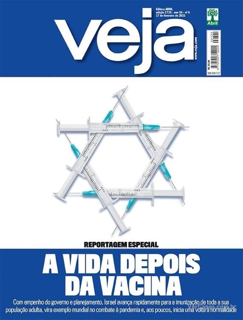 Capa da revista Veja 12/02/2021