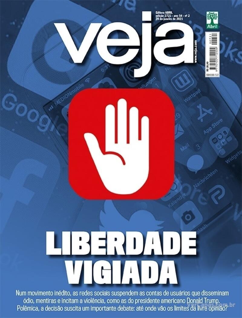 Capa da revista Veja 15/01/2021
