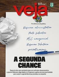 Capa da revista Veja 05/02/2021