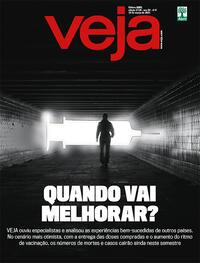 Capa da revista Veja 05/03/2021
