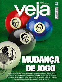 Capa da revista Veja 12/03/2021