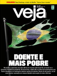 Capa da revista Veja 19/03/2021