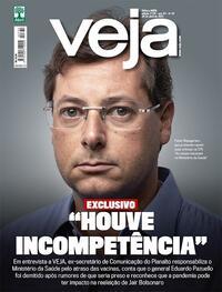 Capa da revista Veja 23/04/2021