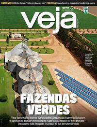 Capa da revista Veja 29/01/2021