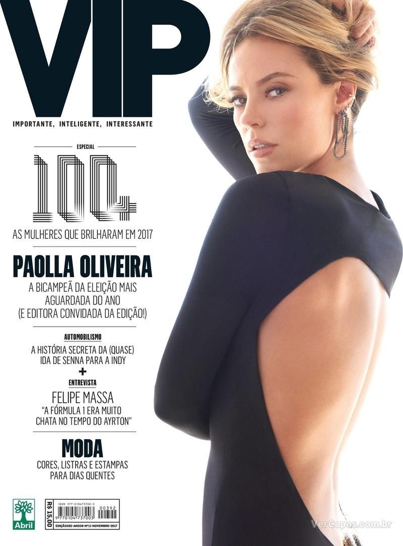 Capa da revista VIP 01/11/2017