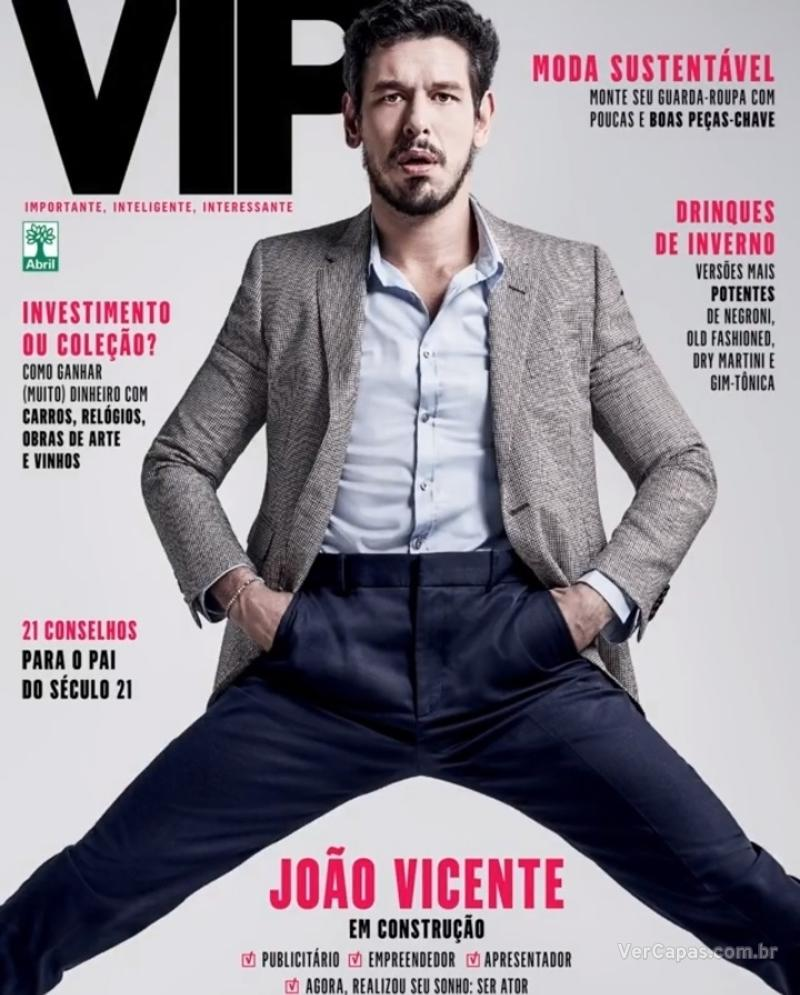 Capa da revista VIP 11/08/2018